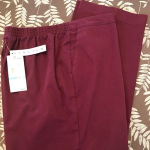 Alfred Dunner stretch dress pants